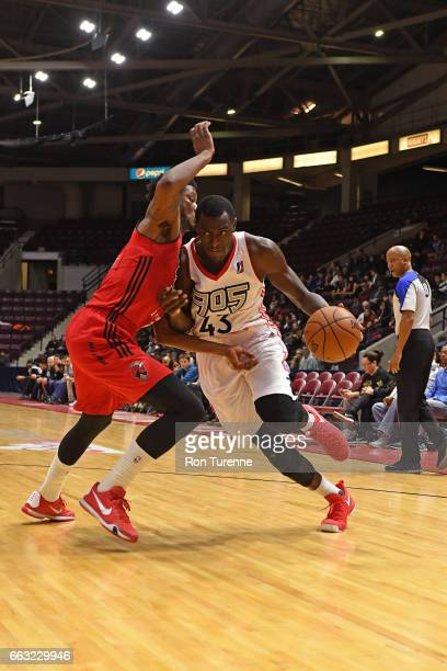 Pascal Siakam of the Raptors 905 drives to the basket against the Windy City Bulls on March 30 2017 in Mississauga Ontario Canada NOTE TO USER User...