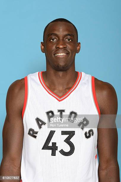 Pascal Siakam of the Toronto Raptors poses for a head shot during the 20162017 Media Day on September 26 2016 at the BioSteel Centre in Toronto...