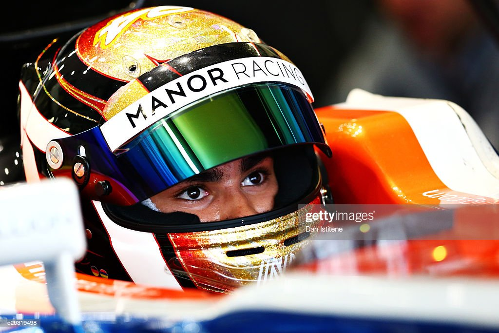 <a gi-track='captionPersonalityLinkClicked' href=/galleries/search?phrase=Pascal+Wehrlein&family=editorial&specificpeople=9406324 ng-click='$event.stopPropagation()'>Pascal Wehrlein</a> of Germany and Manor Racing in the garage during final practice ahead of the Formula One Grand Prix of Russia at Sochi Autodrom on April 30, 2016 in Sochi, Russia.