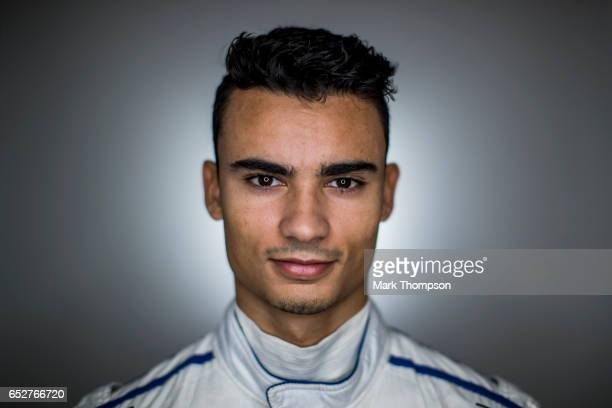 Pascal Wehrlein of Germany and Sauber F1 poses for a portrait during day three of Formula One winter testing at Circuit de Catalunya on March 9 2017...