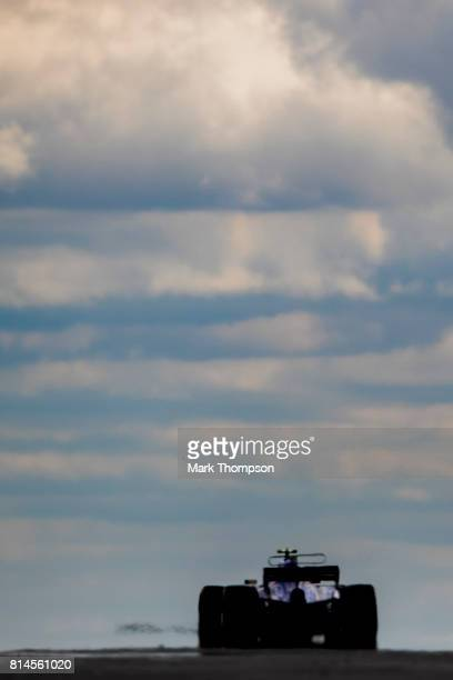 Pascal Wehrlein of Germany driving the Sauber F1 Team Sauber C36 Ferrari on track during practice for the Formula One Grand Prix of Great Britain at...