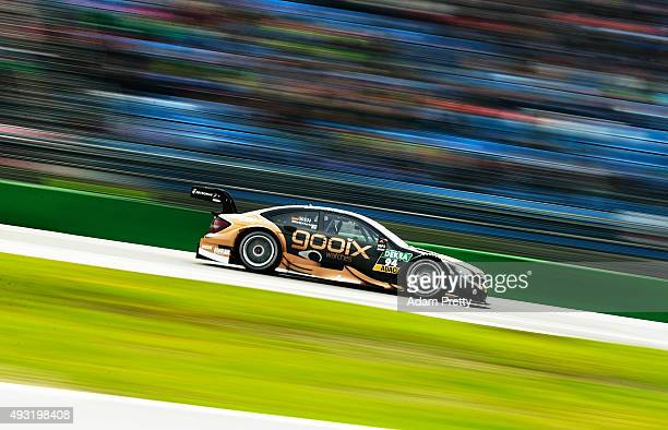 Pascal Wehrlein of gooix Mercedes AMG in action during qualifying for race 2 of the DTM German Touring Car Hockenheim at Hockenheimring on October 18...