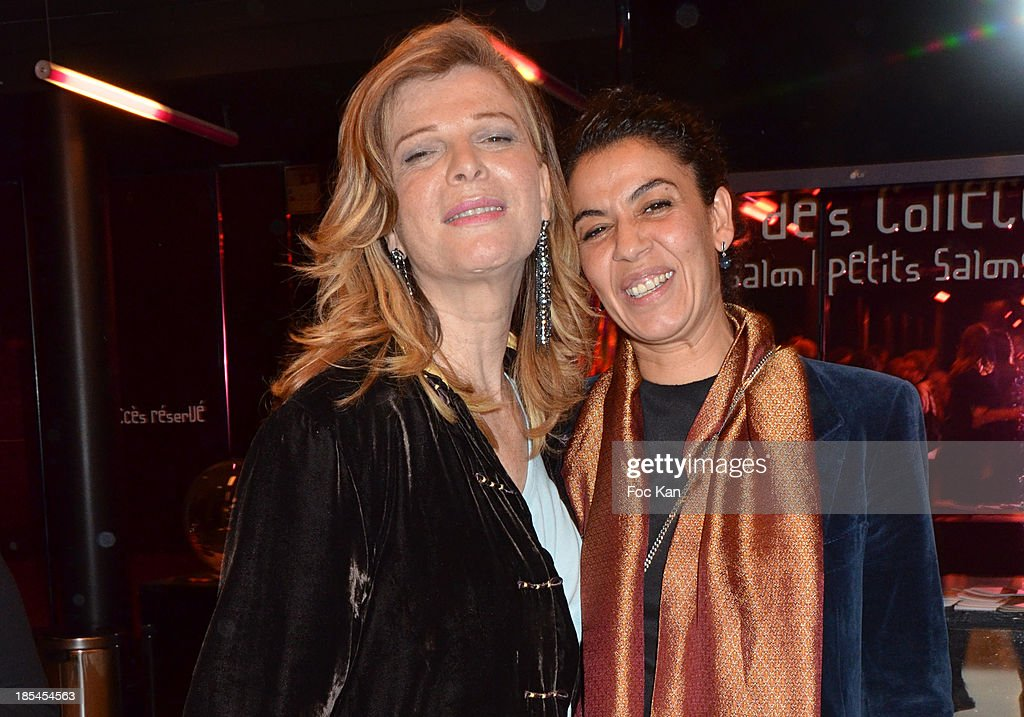 Pascale Ourbih and Lebdi Safia attend the 'Cheries Cheris' Gay Lesbian Transexual 19th Film Festival Closing Ceremony At The Forum DesHalles on October 20, 2013 in Paris, France.