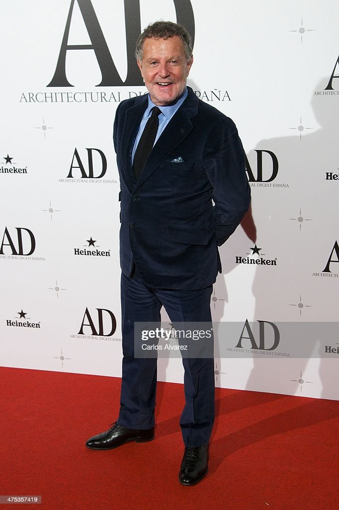 Pascua Ortega attends the AD Awards 2014 at the Santa Coloma Palace on February 27, 2014 in Madrid, Spain.