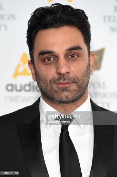Pasha Bocarie attends the Royal Television Society Programme Awards on March 21 2017 in London United Kingdom