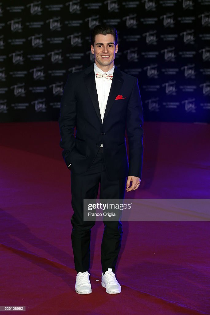 Pasquale Di Nuzzo attends 'Tini - The New Life Of Violetta' Premiere In Rome on April 29, 2016 in Rome, Italy.