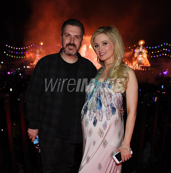 Pasquale Rotella and Holly Madison...