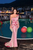 Pasqualina Sanna attends Day 2 of the Ischia Global Film Music 2014 on July 13 2014 in Ischia Italy