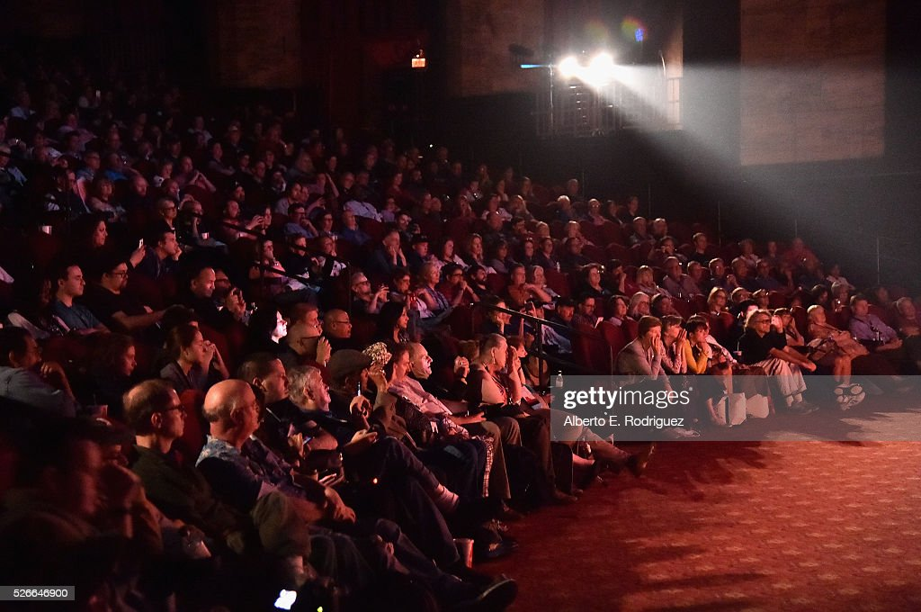 Pass holders attend 'An Afternoon with Carl Reiner - Dead Men Don't Wear Plaid' during day 3 of the TCM Classic Film Festival 2016 on April 30, 2016 in Los Angeles, California. 25826_006