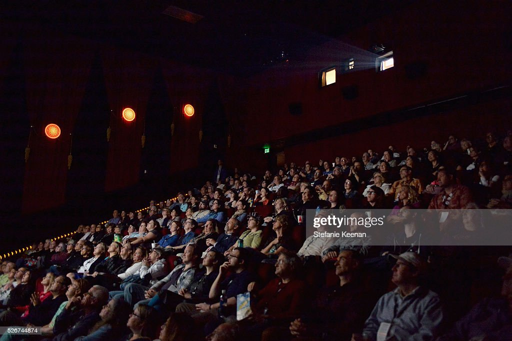 Pass holders attend 'Midnight' screening during day 3 of the TCM Classic Film Festival 2016 on April 30, 2016 in Los Angeles, California. 25826_005