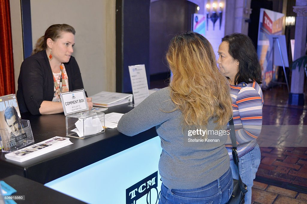 Pass holders attend 'The Art of the Filmscore: Creating Memories in the Movies' during day 4 of the TCM Classic Film Festival 2016 on May 1, 2016 in Los Angeles, California. 25826_005
