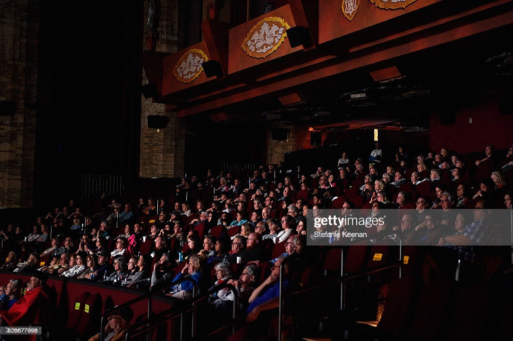 Pass holders attend 'The King and I' screening during day 3 of the TCM Classic Film Festival 2016 on April 30, 2016 in Los Angeles, California. 25826_005