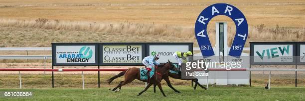 Pass the Glass ridden by Jack Hill wins the Ararat Farm Supplies BM58 Handicap at Ararat Racecourse on March 10 2017 in Ararat Australia