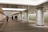 Passageway at subway station