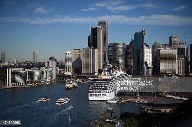Passenger boats approach Circular Quay ferry wharf in Sydney on May 27 2015 According to an infrastructure audit report released last week Australia...