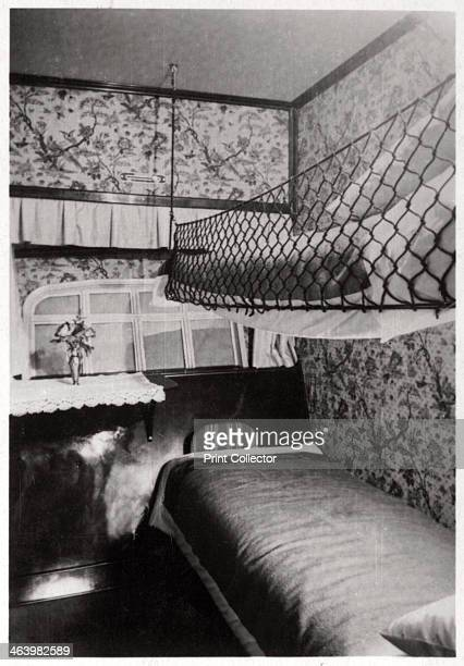 Passenger cabin at night Zeppelin LZ 127 'Graf Zeppelin' 1933 The 'Graf Zeppelin' was the most successful airship ever built Between its first flight...