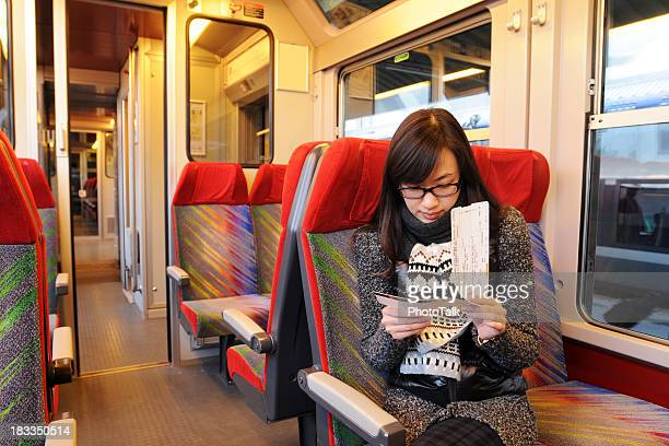 Passeggero in treno-XLarge
