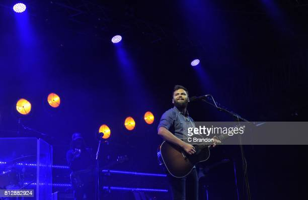 Passenger performs on stage during Day 1 of Kew the Music at Kew Gardens on July 11 2017 in London England