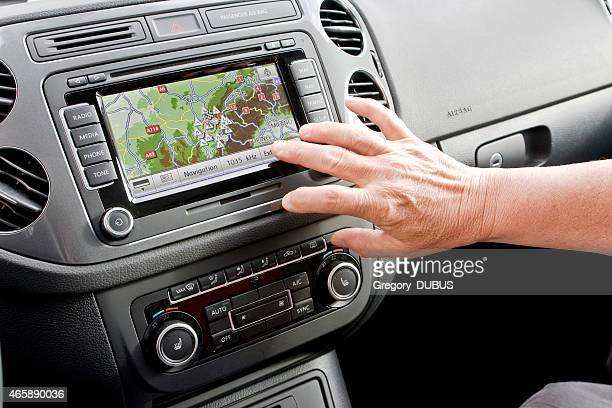 Passenger setting car navigation technology
