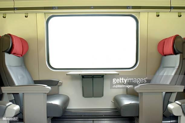 Passenger train interior