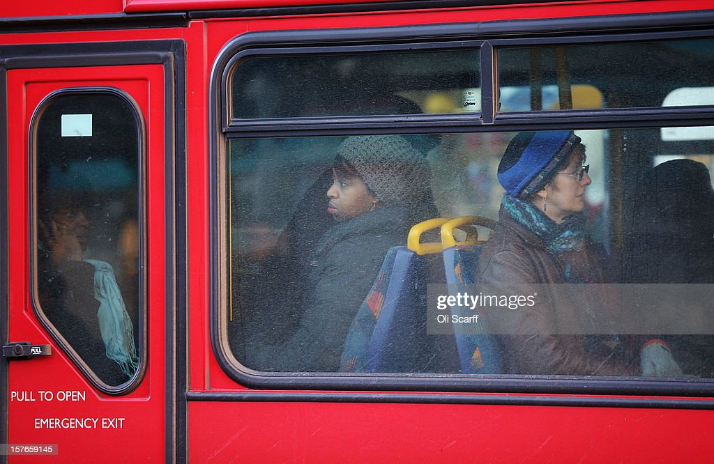 Passengers travel by bus along Lewisham high street on December 5, 2012 in London, England. The Chancellor of the Exchequer George Osborne has stated that the United Kingdom's economy is still struggling during his autumn budget statement to Parliament.