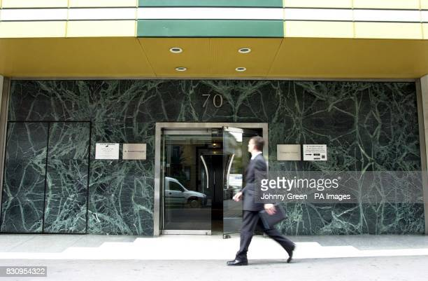 A passerby outside the London headquarters of Arcadia which accepted a 770 million takeover bid from Bhs billionaire Philip Green 50 * A combined...