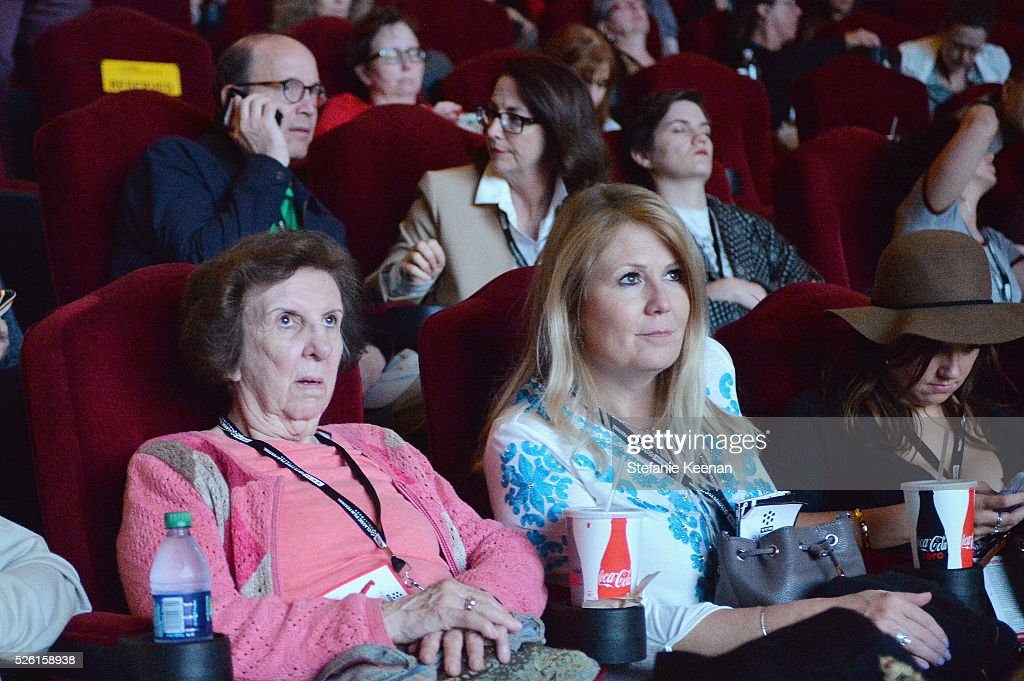 Passholders enjoy 'The Conversation' screening during day 2 of the TCM Classic Film Festival 2016 on April 29, 2016 in Los Angeles, California. 25826_005