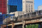 Passing CTA Trains