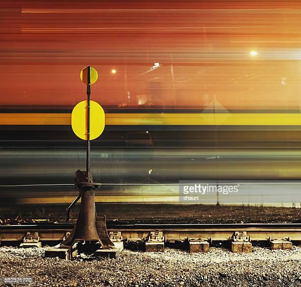 Übergeben Güterzug