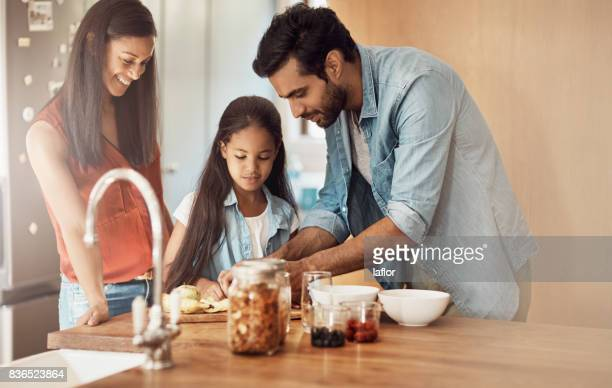 Weitergabe ihrer Liebe zum Kochen