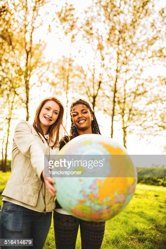 passing the globe for friendship