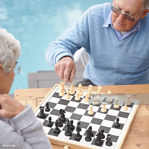 Passer du temps avec une partie d'échecs Dégustez