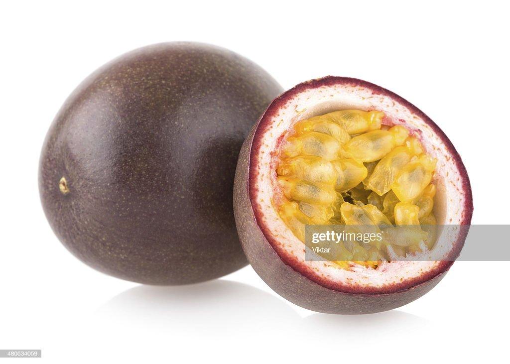passion fruits : Bildbanksbilder