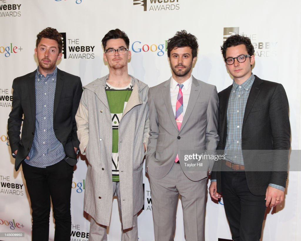 Passion Pit attends the 16th Annual Webby Awards at Hammerstein Ballroom on May 21, 2012 in New York City.