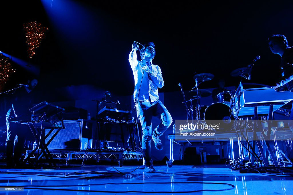 Passion Pit performs onstage at the 23rd Annual KROQ Almost Acoustic Christmas at Gibson Amphitheatre on December 9, 2012 in Universal City, California.