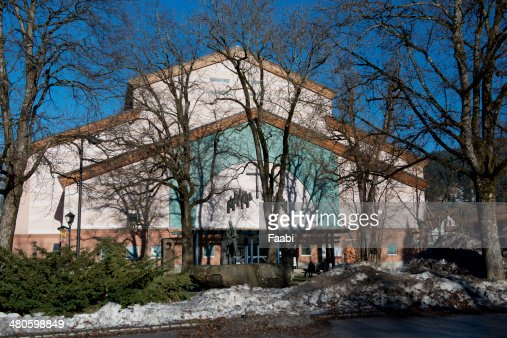 Passion Theatre in Oberammergau : Stock Photo