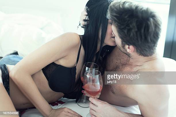 Passionate Couple in bed