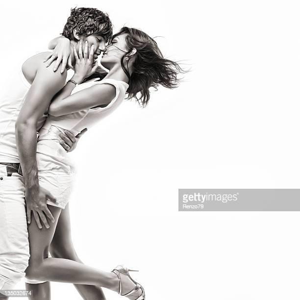 Casal apaixonado (vestido branco sessão