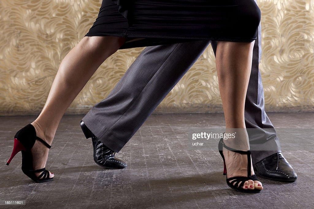 Leidenschaftliche Tango : Stock-Foto