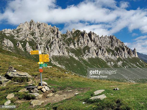 Passo del Sole, mountain pass in the Swiss Alps