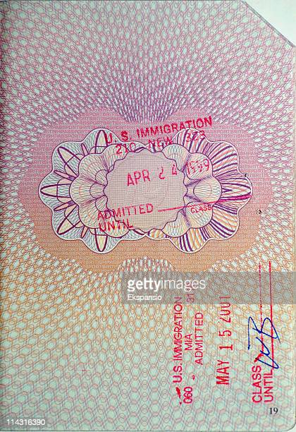 Passport Stamps - USA