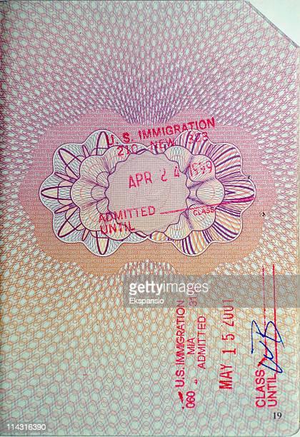 Francobolli di passaporto-Stati Uniti