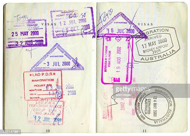 パスポートスタンプ-2