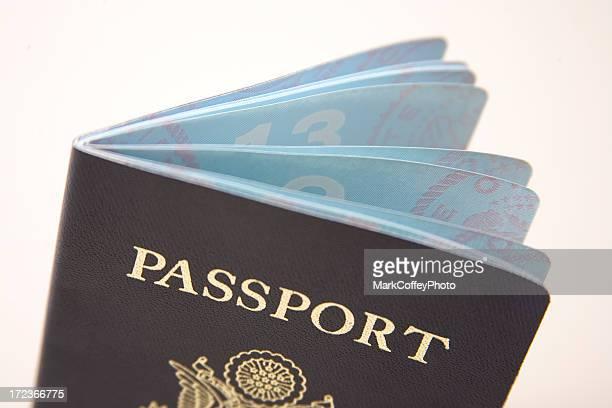 US Passport Top Half