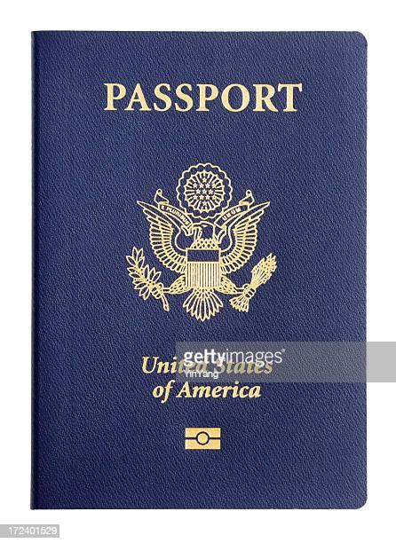 米国のパスポートのトラベル識別、アメリカの内臓 Microchip カバー、白色