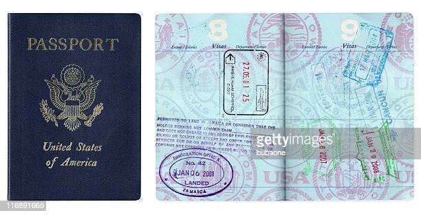 米国のパスポートのビザの旅行