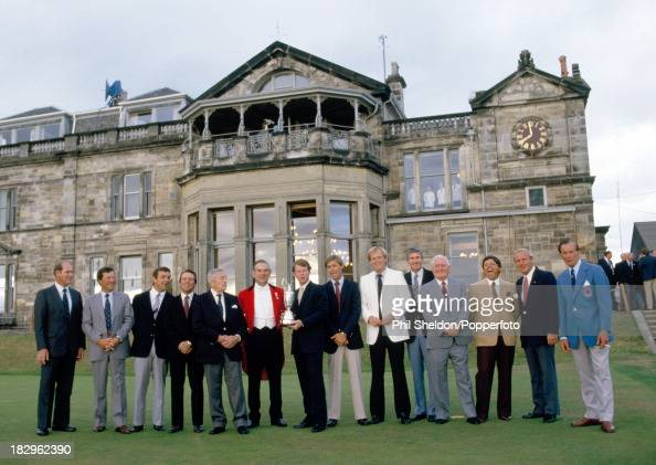 british open champions at st andrews pictures
