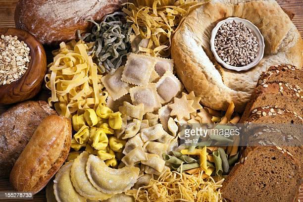 Pasta and Bread