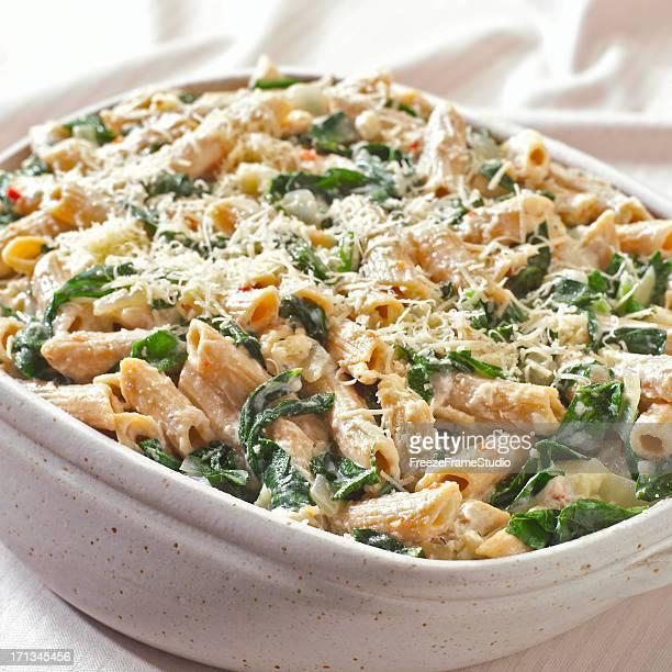 Pasta & Spinach casserole