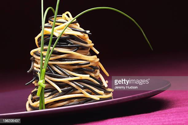 Pasta Twirl on a plate